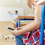 Mobiel in de klas